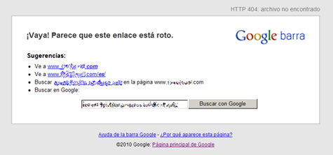 error-404-con-google-toolbar