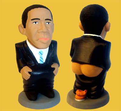 Caganer Obama