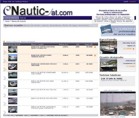 Página principal Nautic-cat.com